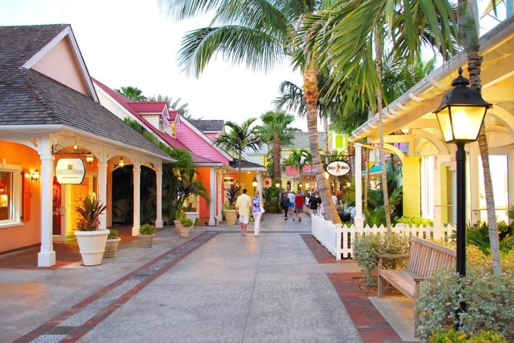 Marina Village at Atlantis Bahamas Main Street