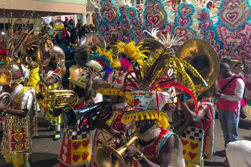 The Junkanoo Parade in Nassau Bahamas